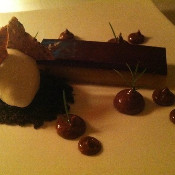 Chocolate Passion Fruit Tart @ Chez TJ