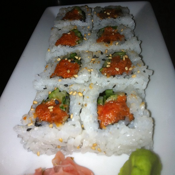 Spicy Tuna Roll - Rice & Company - Luxor, Las Vegas, NV