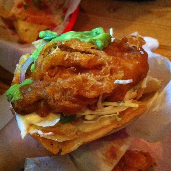 Nick's Baja-Style Fish Tacos