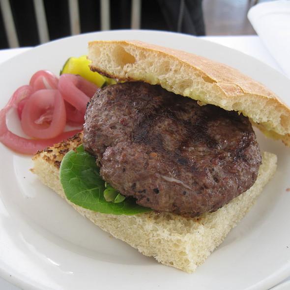 House-Ground Hamburger @ Zuni Cafe