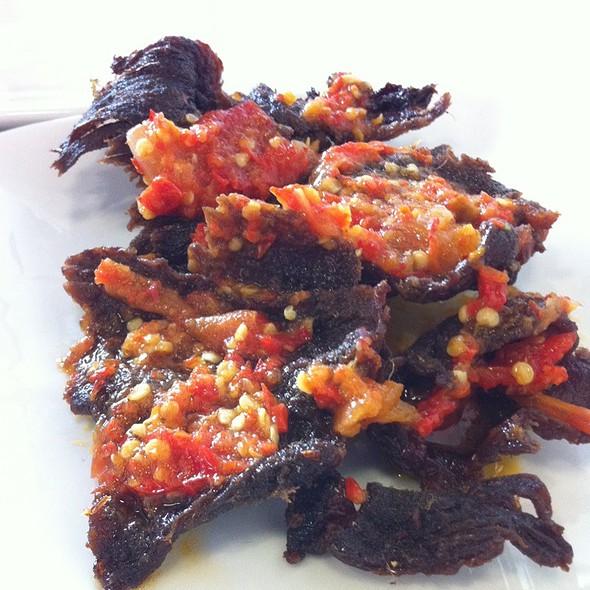 Dagimg Dendeng Belado @ Bagindo Padang Restaurant