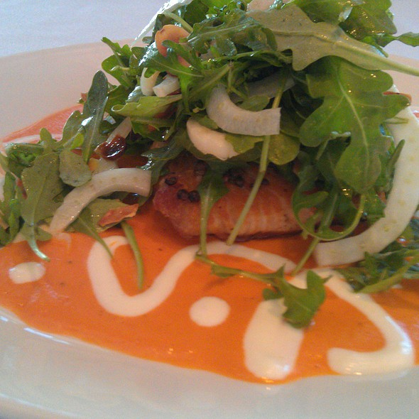 Seared Salmon @ Wild Orchid Cafe