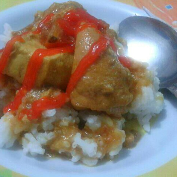 Bistik ayam with tofu @ Home