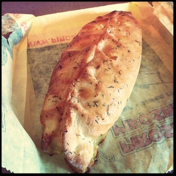 Smoked Salmon Pate Piroshky @ Piroshky Piroshky