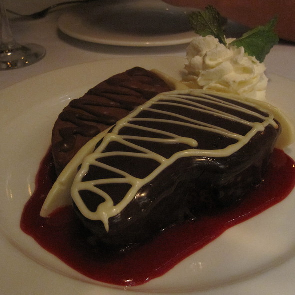 Chocolate Porterhouse @ Dylan Prime Restaurant