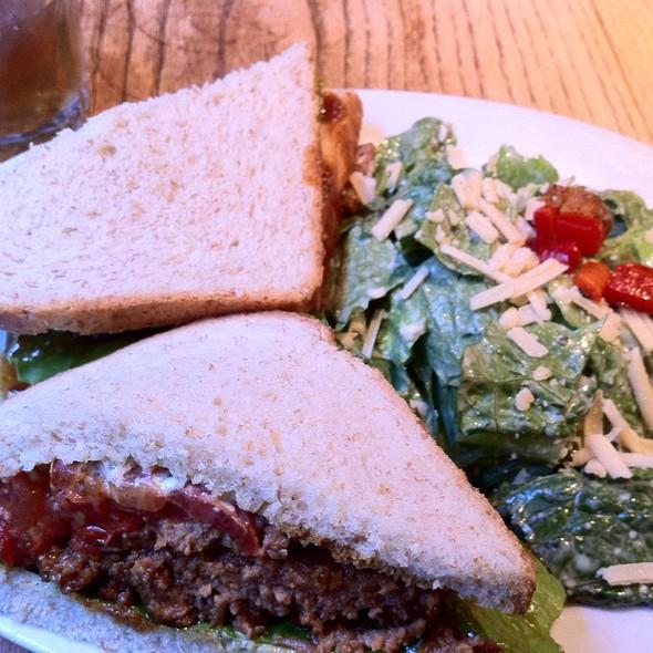 Meatloaf Sandwich @ The Peach Tree Gift Gallery & Tea Room