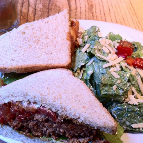 Meatloaf Sandwich @ The Peach Tree Gift Gallery & Tea Room