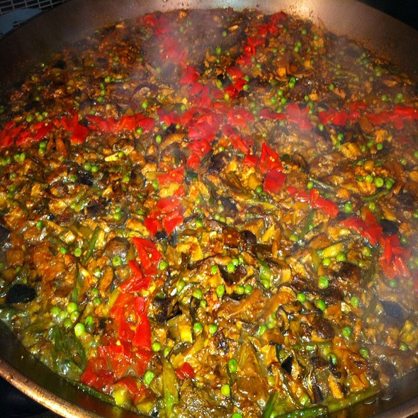 Vegetable Paella @ Jaleo
