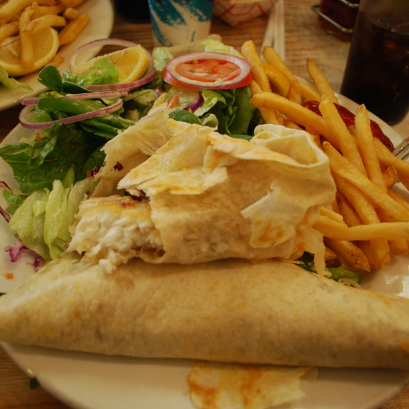 halibut tacos @ Phil's Fish Market & Eatery