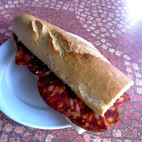 Chorizo Sandwich @ La Casona