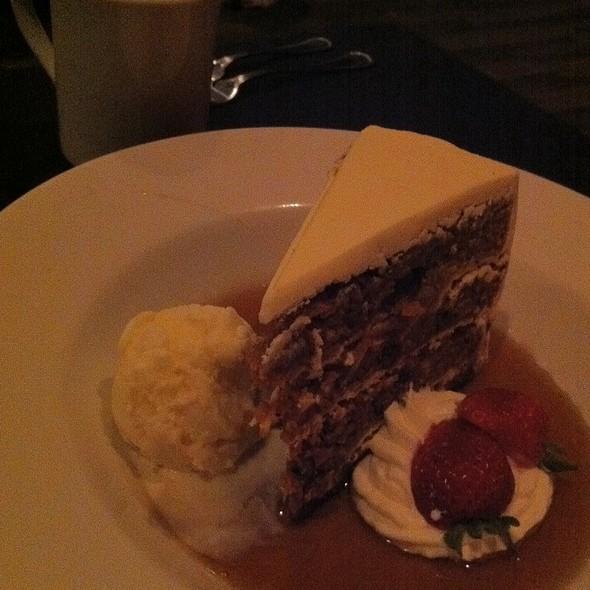 Collosal Carrot Cake - LUX Steakhouse + BAR94, Edmonton, AB
