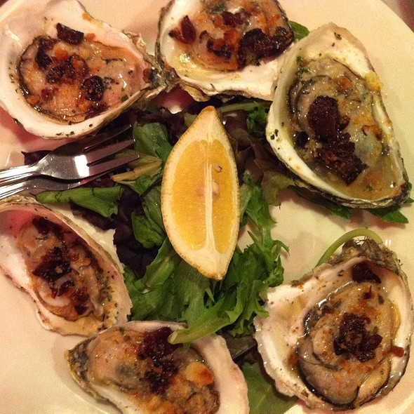 Bbq Baked Oysters @ East Coast Grill