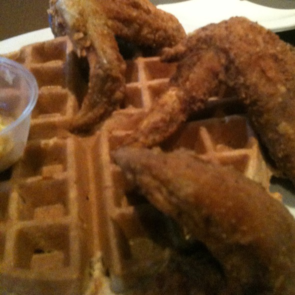 Fried Chicken and Waffles @ Maxine's Chicken & Waffles