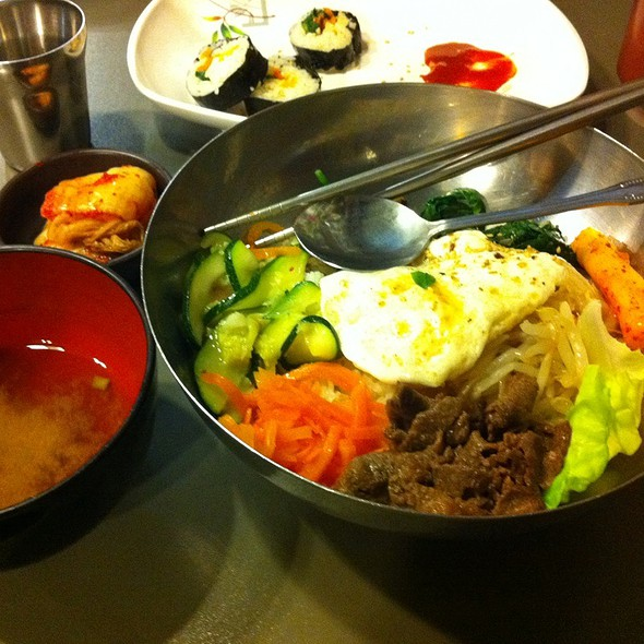 Bibimbap Set Menu @ Seoul Bakery