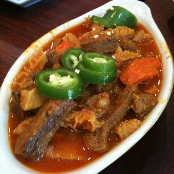 Tongue and tripe @ Habesha Market & Carry Out
