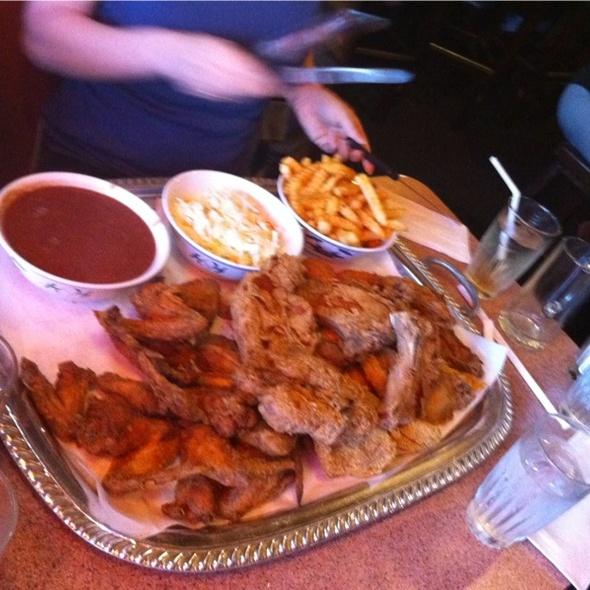 Family Platter @ Scend's Restaurant