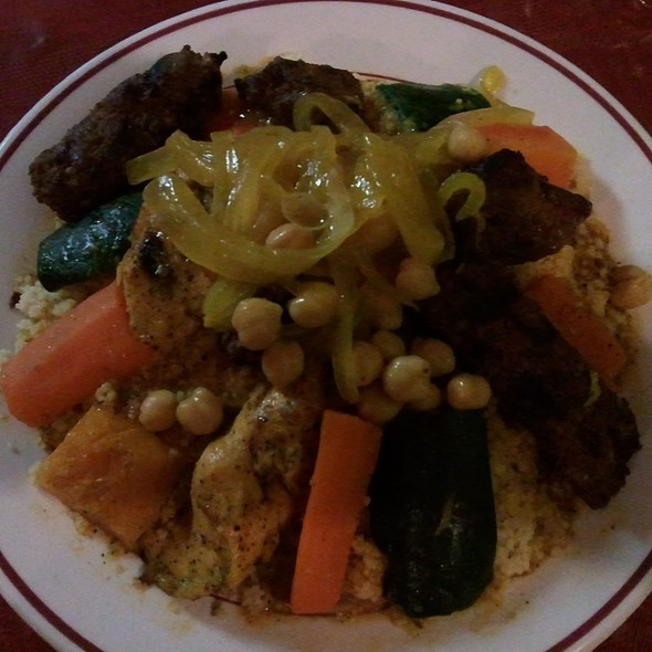Couscous Royal @ Casablanca Couscous & Grill