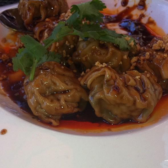 Szechuan Spicy Wonton  @ Haiku Asian Bistro