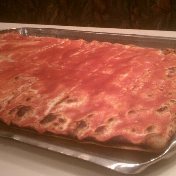 1/2 Ricotta 1/2 Plain Pie @ Frank Pica's Pizzeria