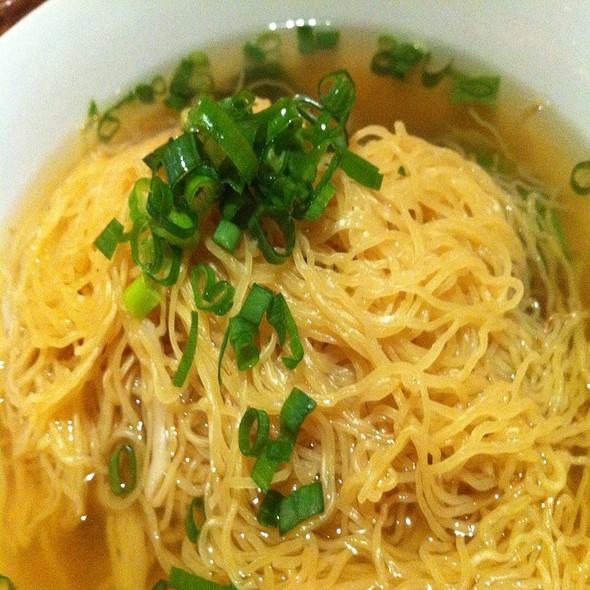 Hong Kong Style Noodles @ Cafe Momo