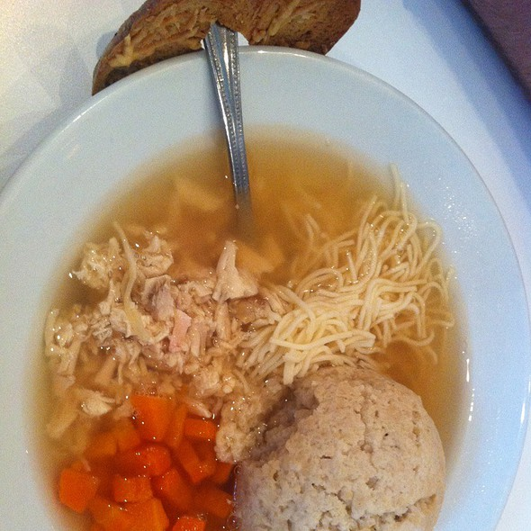 Matzo Ball soup @ Steve's Deli Chicago