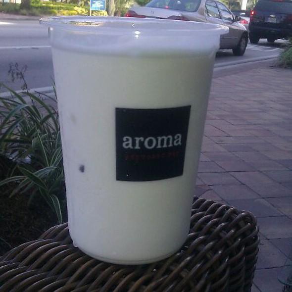 Ice Yogurt @ Aroma Espresso Bar