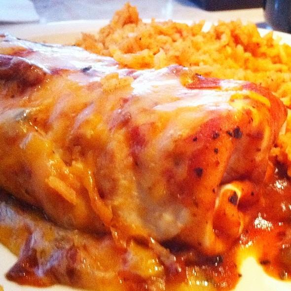 Kids Burrito @ Chuy's