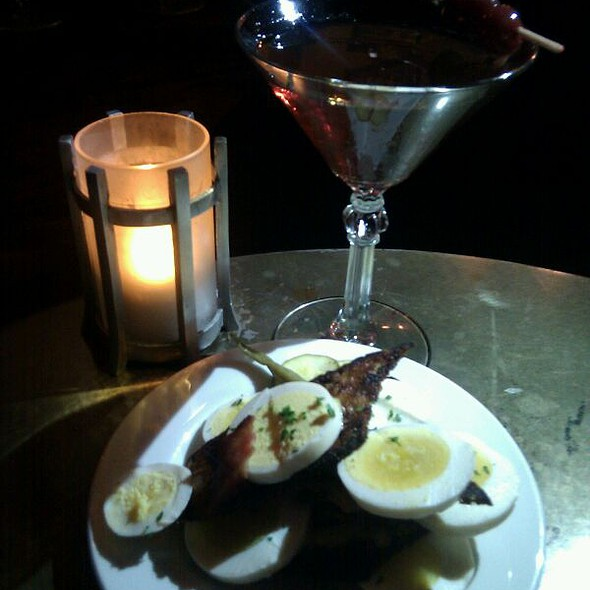 Pickled Eggs @ Comstock Saloon