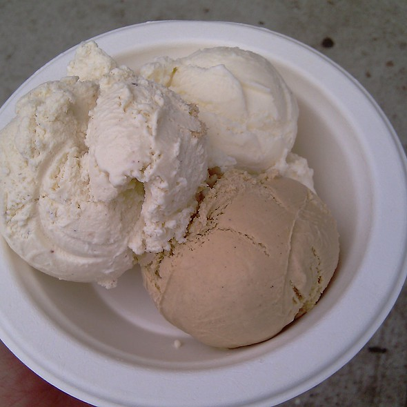 Secret Breakfast Ice Cream @ Humphry Slocombe