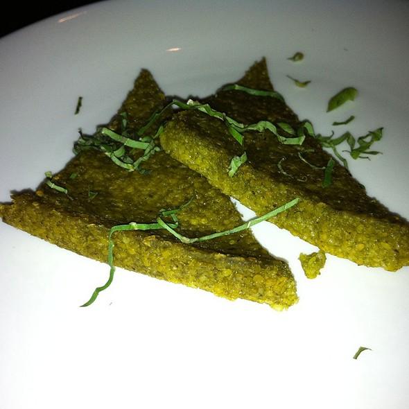 Pesto Polenta