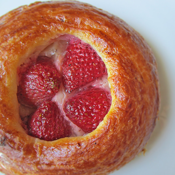 Strawberry Cream Danish @ Whole Foods Market - Palo Alto