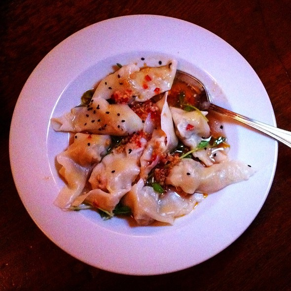 Spicy wontons @ Chow