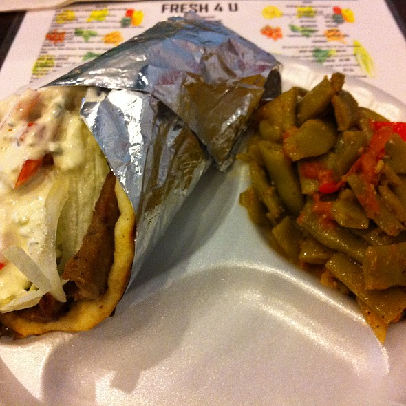 Lamb Gyro @ Fresh For You