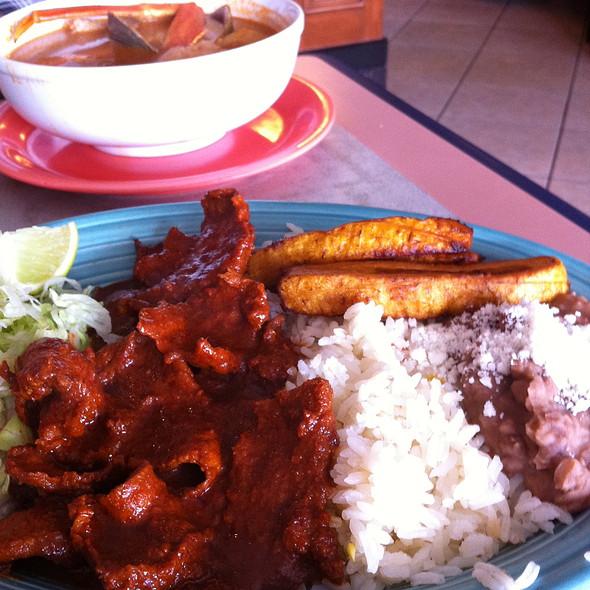 Pork Stir-fry @ Rincon Latino