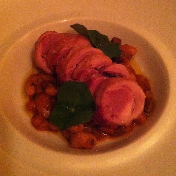 Tuscan Sausage Stuffed Quail @ Acquerello Restaurant