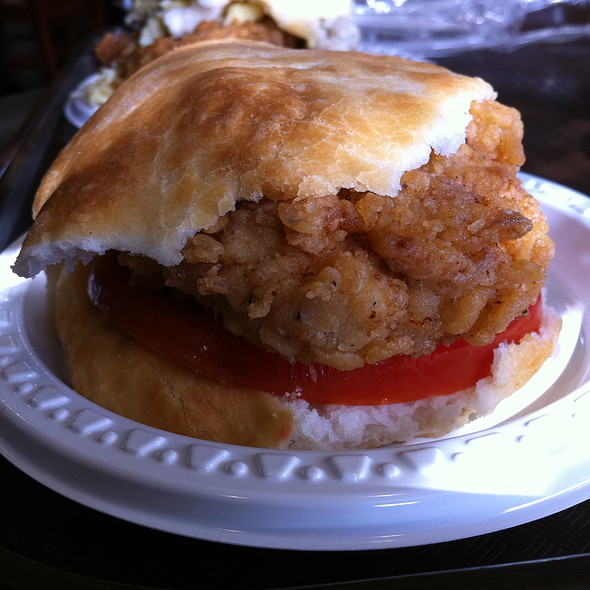 Fried Chicken Biscuit @ Fagan's Biscuit Barn