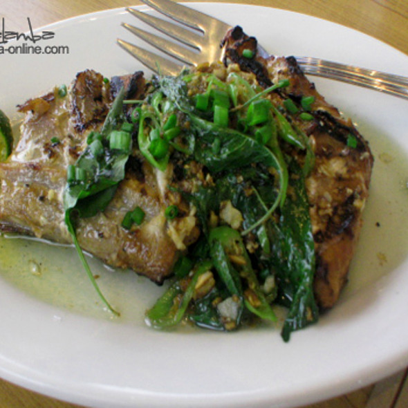 Grilled Tuna @ PigOut- Your Family Grill House