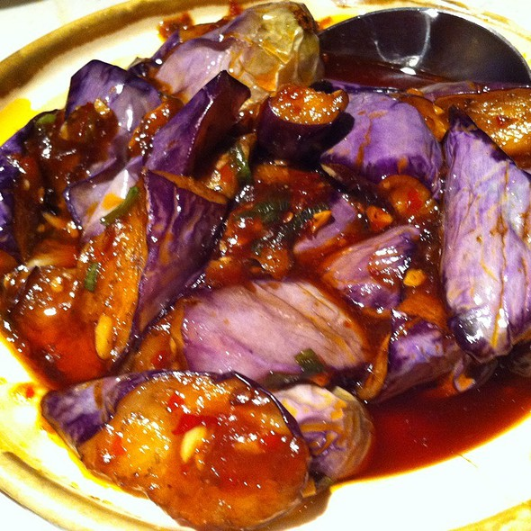 szechuan eggplant in hot garlic sauce