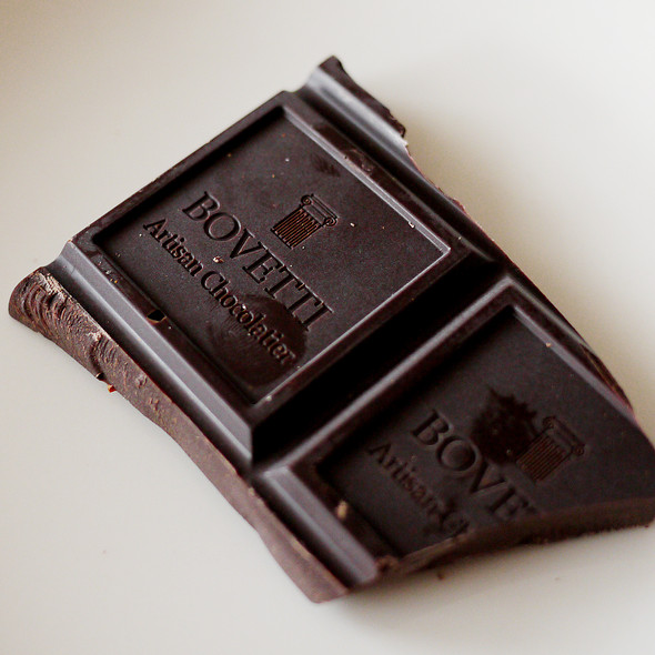 dark chocolate @ Bovetti Chocolats et le Musée de la chocolaterie