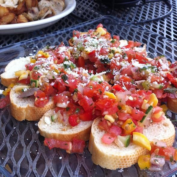 Bruschetta @ Boulder Cafe