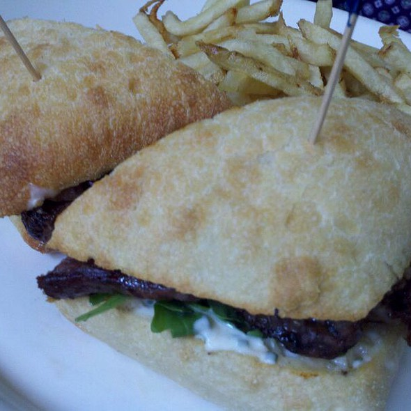Ribeye Steak Sandwich @ Grill At Harryman House