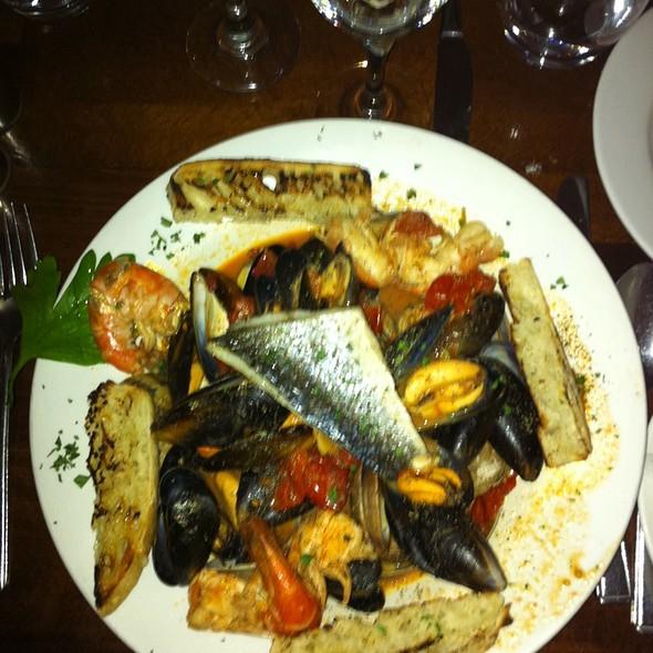 Mussels, Clams & King Prawn Spicy Casserole - Santore Restaurant, London