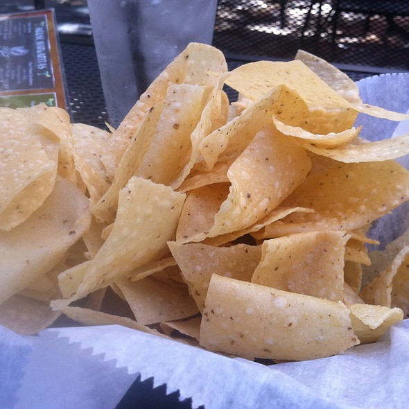 Tortilla Chips - Rosalita's Cantina, St. Louis, MO