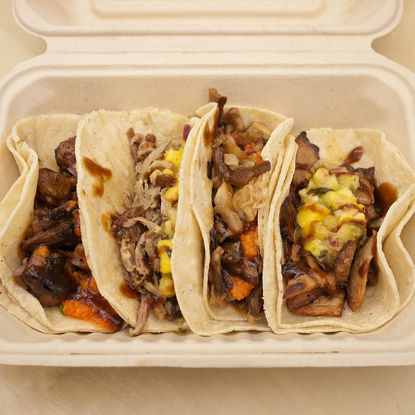 Tacos @ Kung Fu Tacos