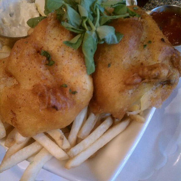 Fish and Chips @ Max's Oyster Bar