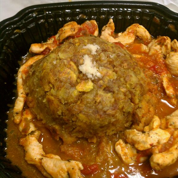 Mofongo De Pollo @ Jimmy'z Kitchen