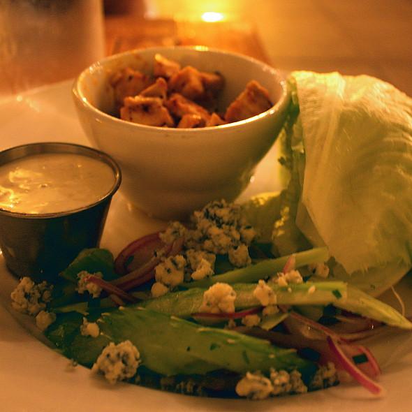 Buffalo Chicken Lettuce Wraps - Bistro 33, Davis, CA