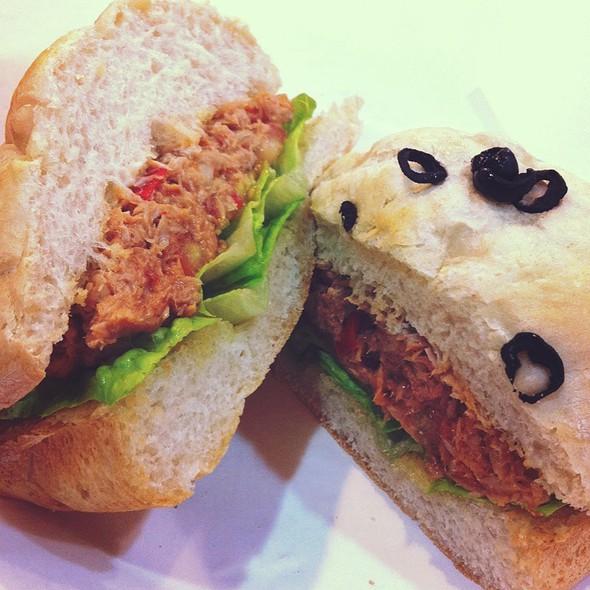 Spicy Tuna Sandwich @ Freshly Baked by Le Bijoux