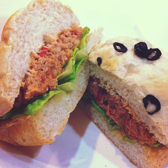 Spicy Tuna Sandwich @ Freshly Baked by Le Bijoux
