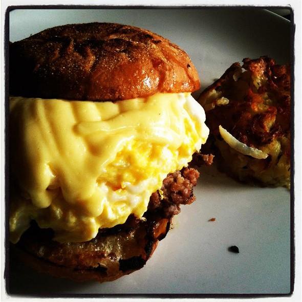 English Muffin Sandwich  @ locavore